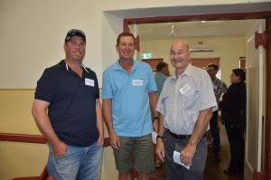 SADGA committee members Simon Mildren, Michael Jaeschke and Neville Sharpe.